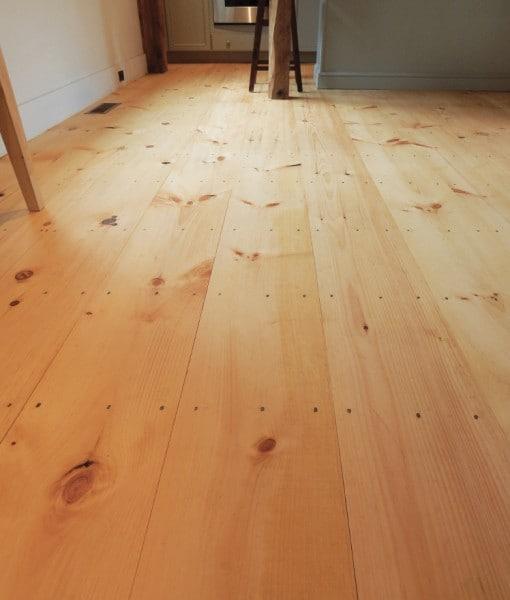 Wide Plank Pine Flooring Vermont