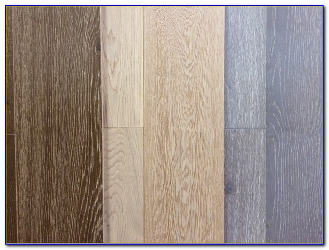 Wire Brushed Engineered Oak Flooring