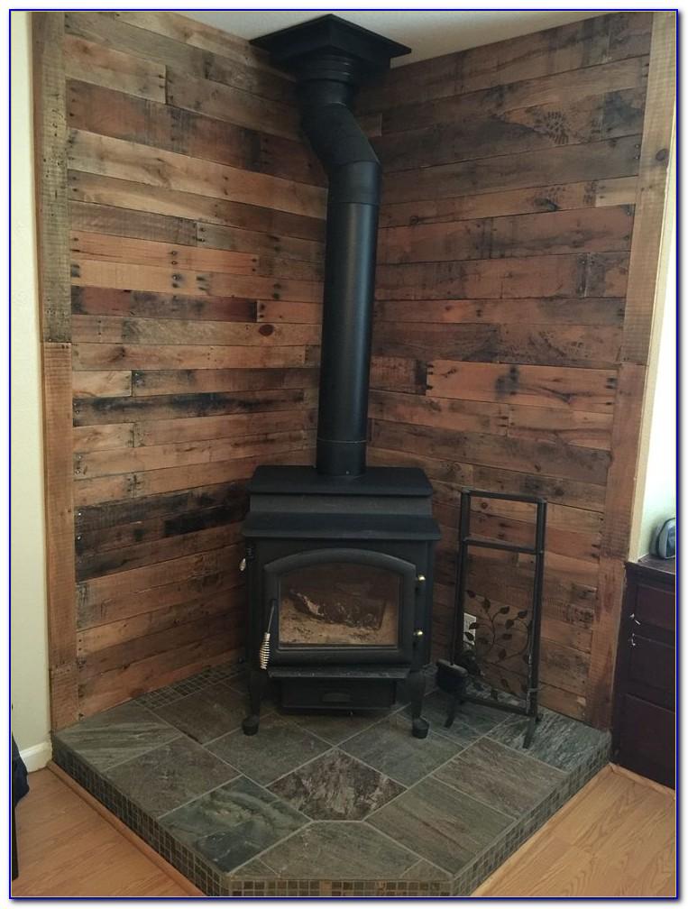 Wood Stove Corner Floor Protector