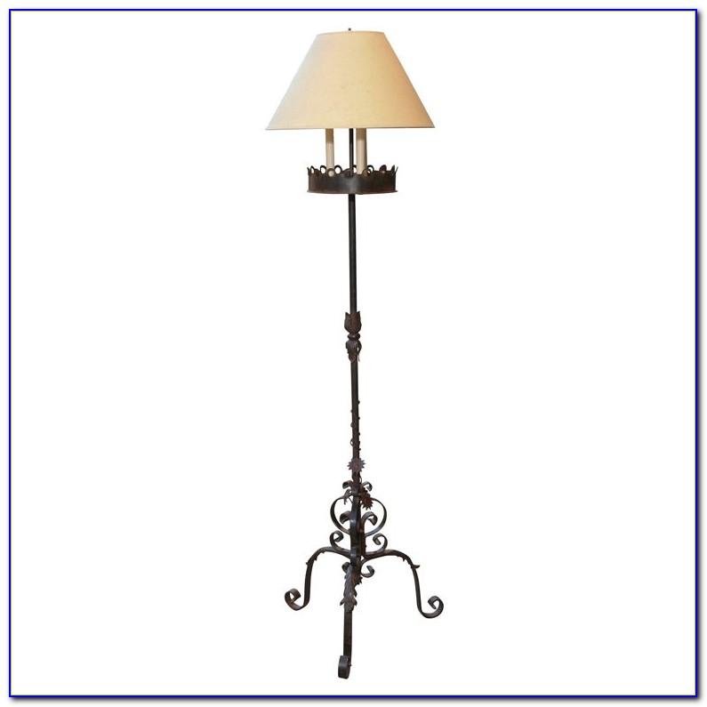 Wrought Iron Floor Lamps Adjustable