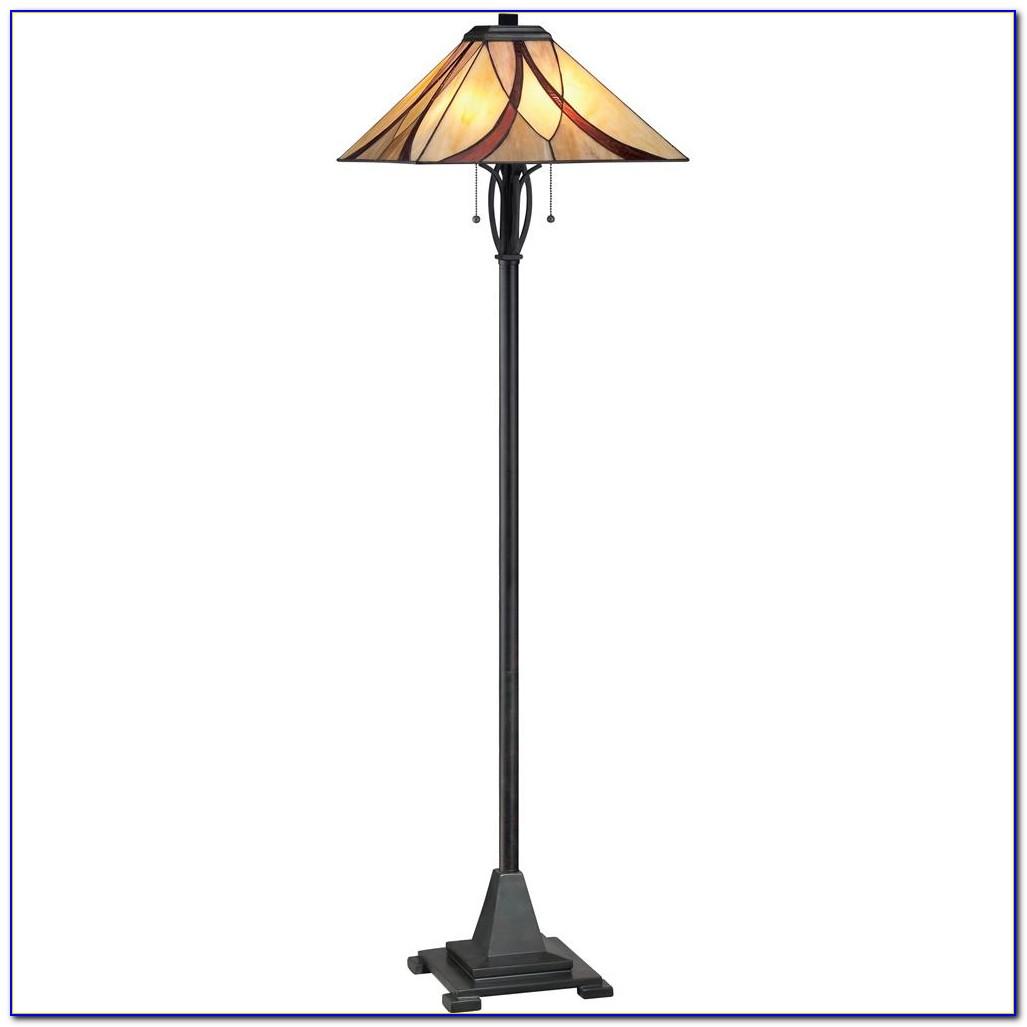 2 Light Bulb Floor Lamp