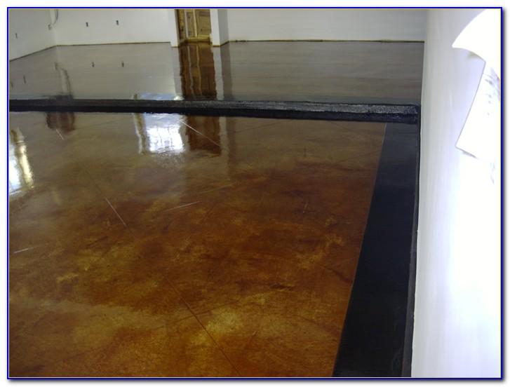 Acid Stain Or Epoxy Garage Floor