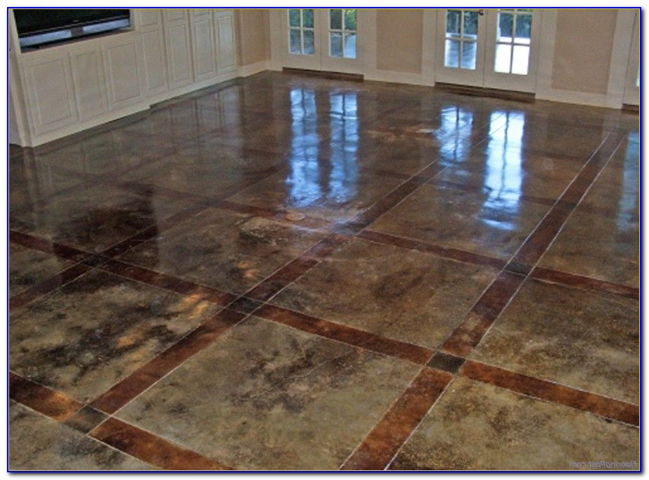 Acid Stained Concrete Floors Pictures