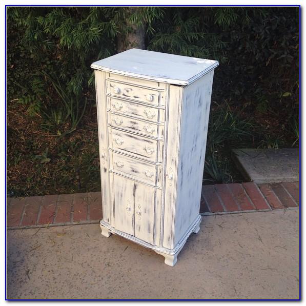Antique Floor Standing Jewelry Box