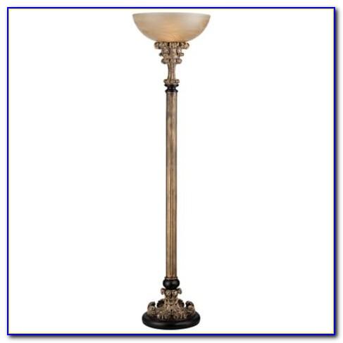 Antique Torchiere Floor Lamp Parts