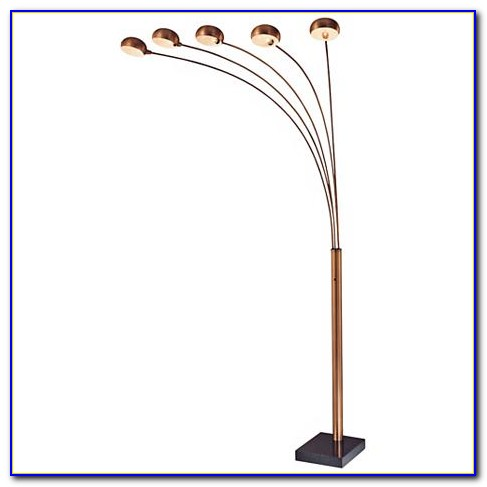 Arc 5 Five Multi Arm Lounge Floor Lamp
