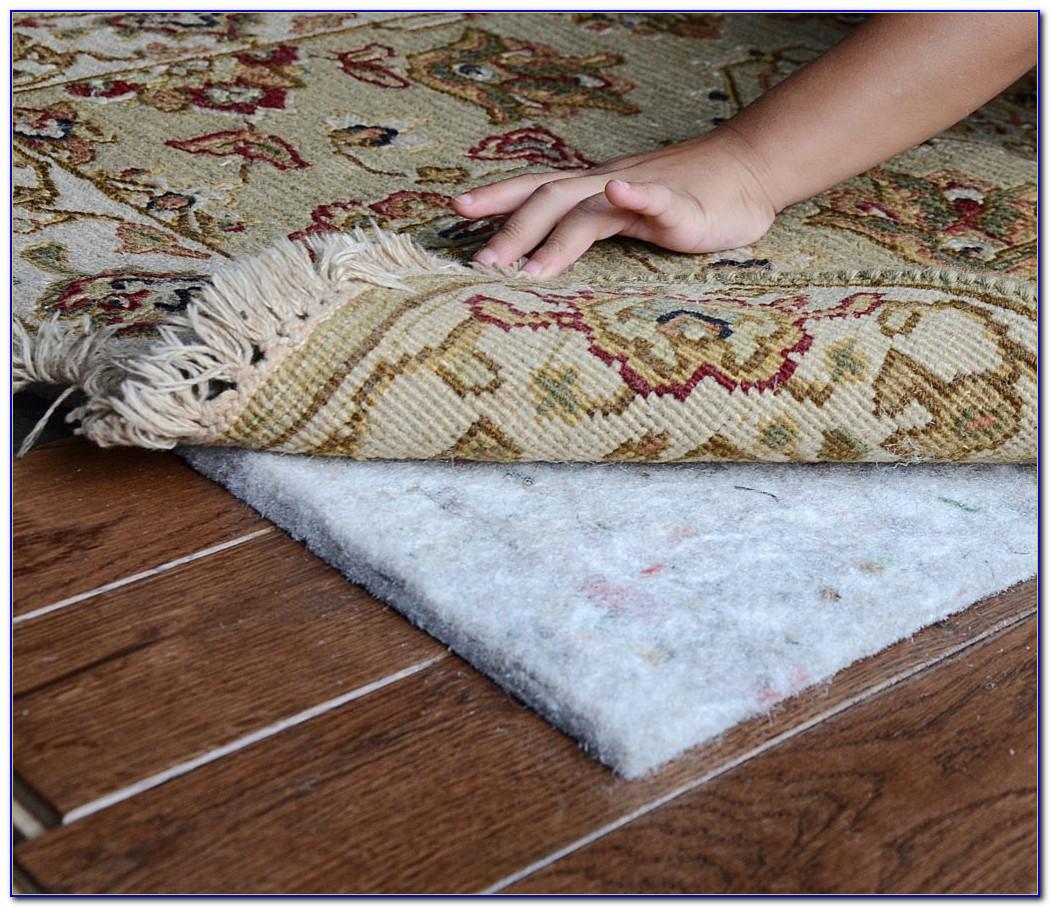 Area Rug Backing Hardwood Floors