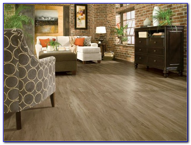 Armstrong Flooring Luxe Plank Installation