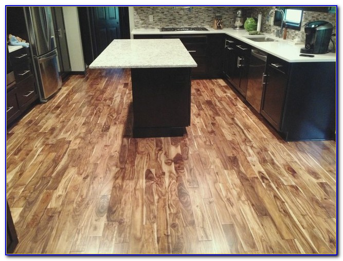Asian Walnut Acacia Blonde Prefinished Hardwood Flooring
