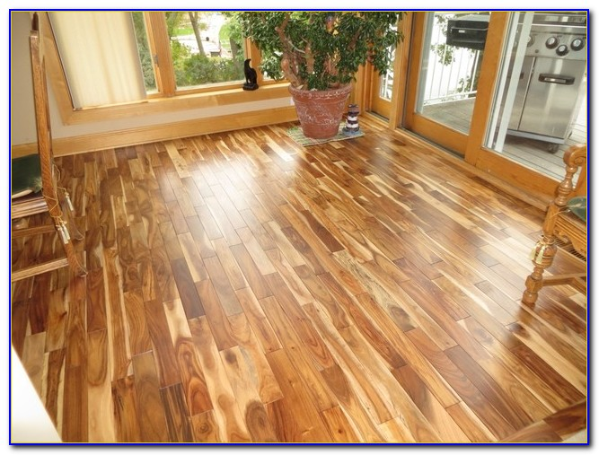 Asian Walnut Acacia Prefinished Hardwood Flooring
