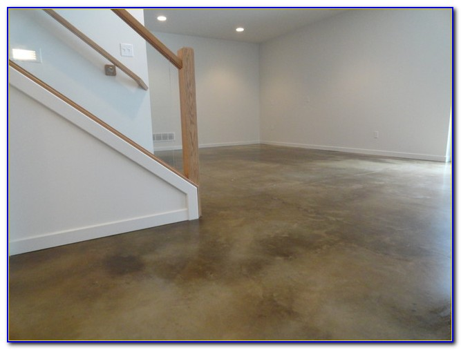 Best Paint Basement Concrete Floors