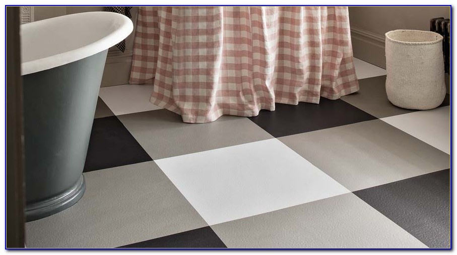 Black And White Checkered Vinyl Flooring Brisbane