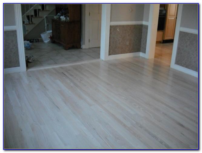 Bleached White Oak Floors