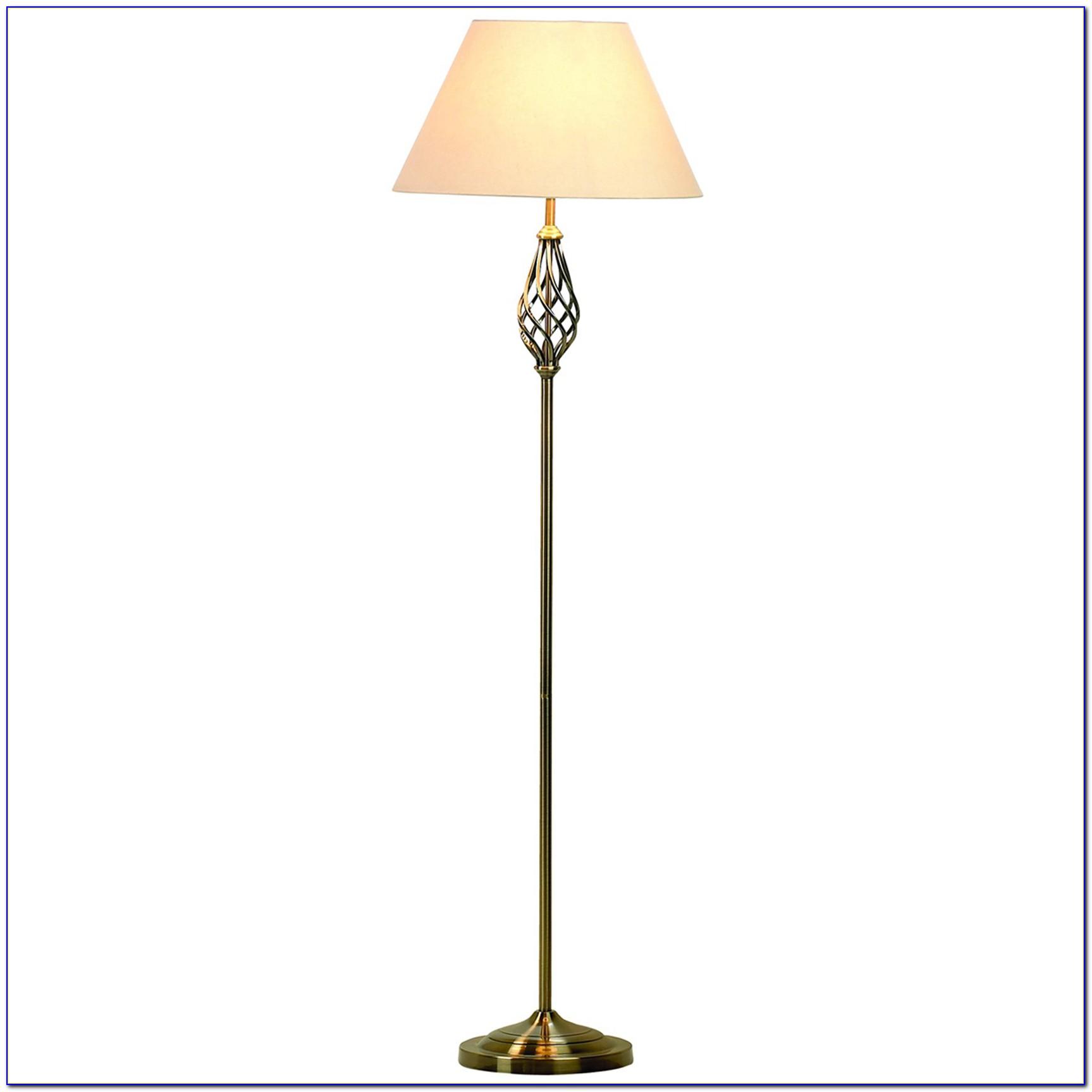 Blue Light Bulb Floor Lamp