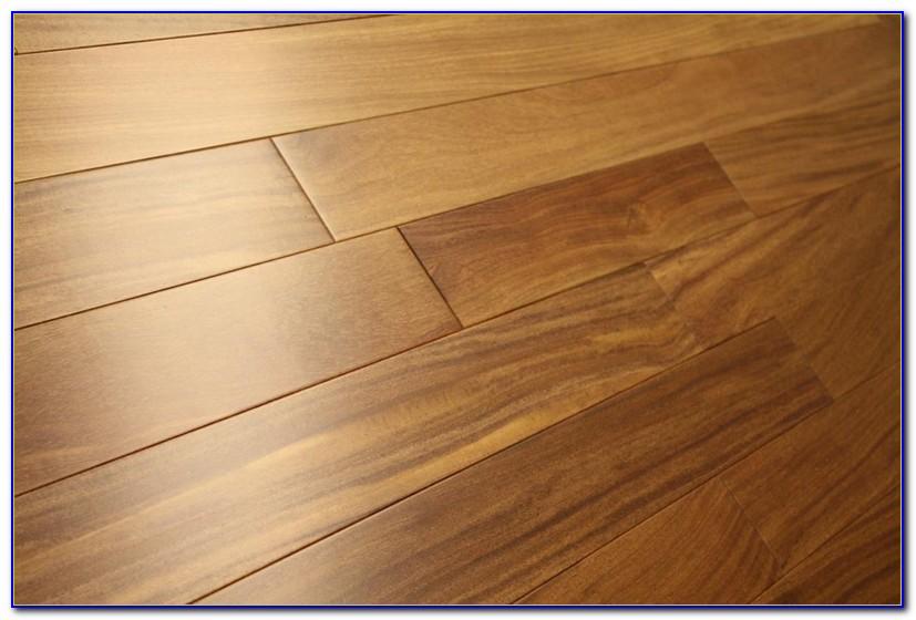 Brazilian Teak Hardwood Flooring Installation