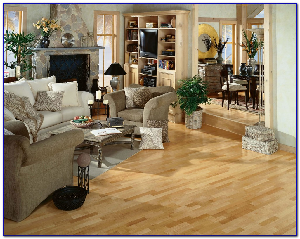 Bruce Maple Natural Hardwood Flooring