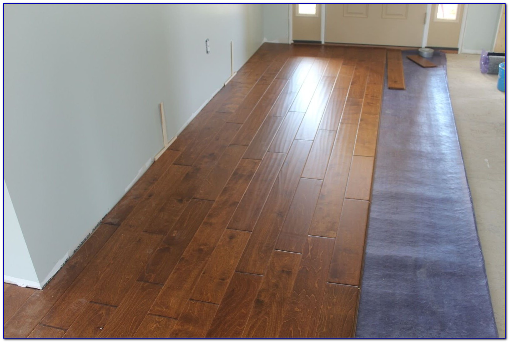 Can You Put Hardwood Floor Over Concrete Slab