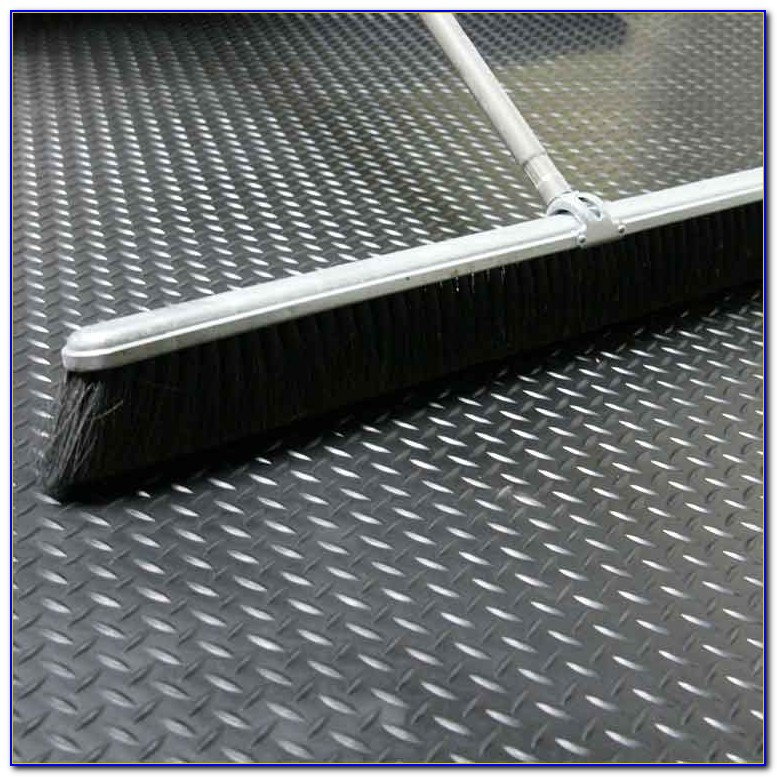 Checker Plate Rubber Flooring