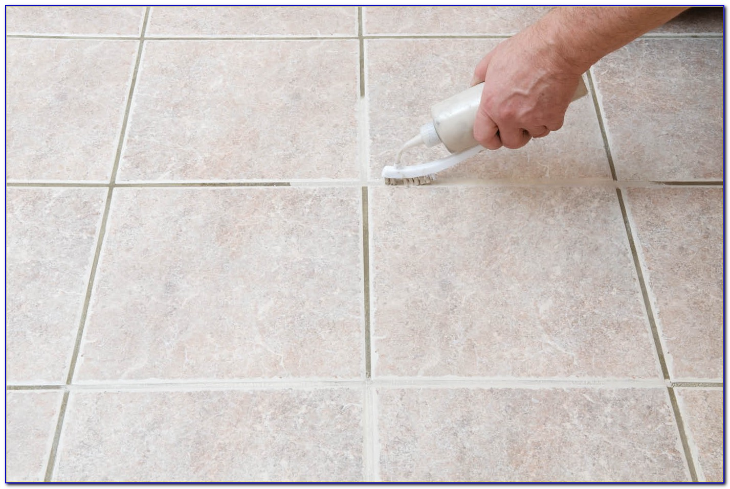 Cleaning Floor Tile Grout With Steam