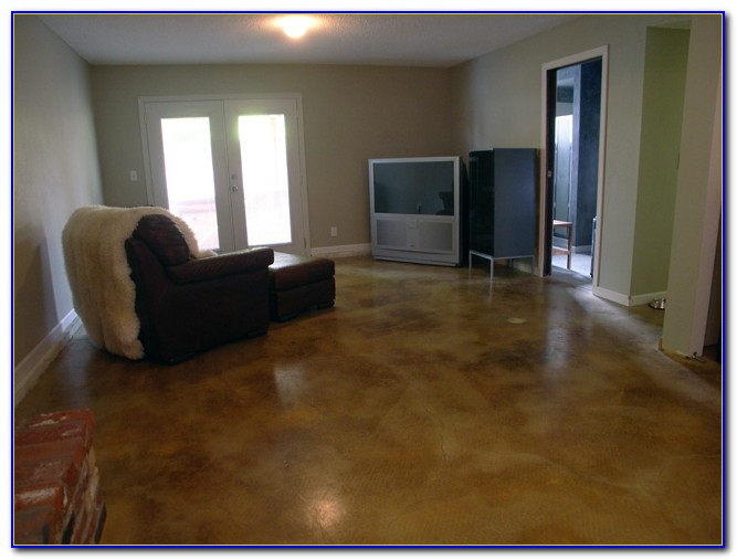 Concrete Basement Floor Ideas