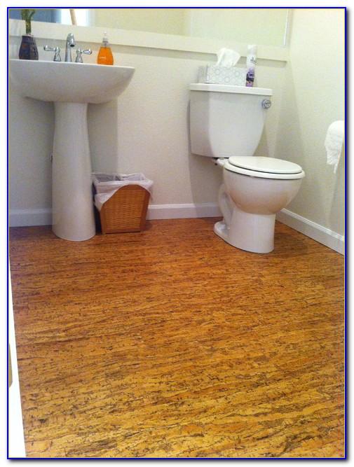 Cork Floor Bathroom Images