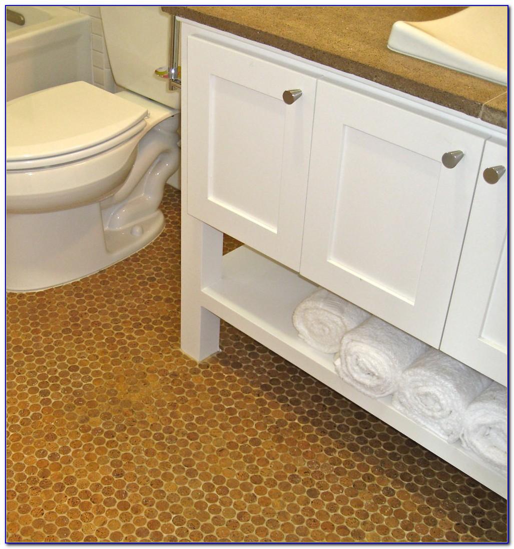 Cork Flooring In Bathroom