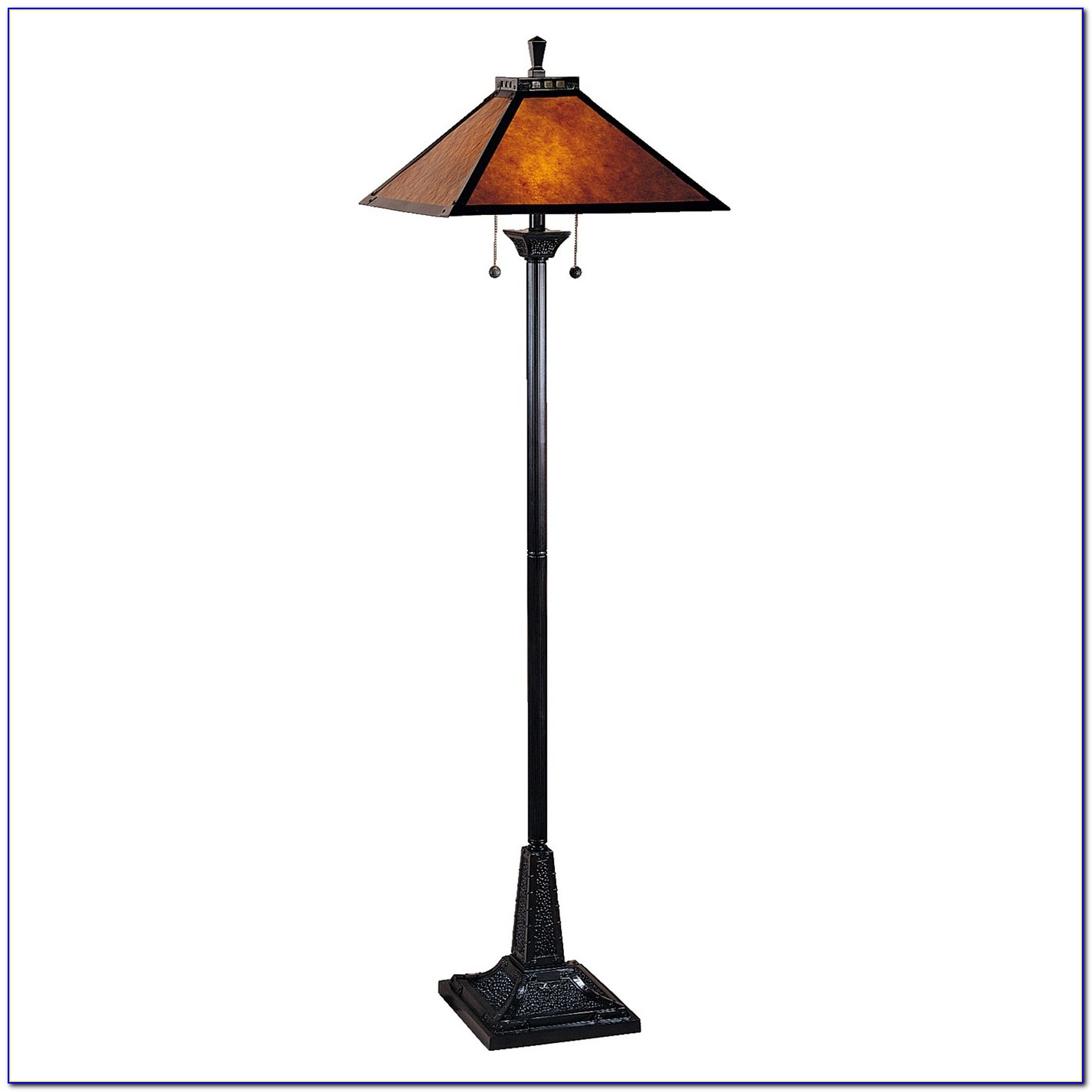 Dale Tiffany Peacock Floor Lamp