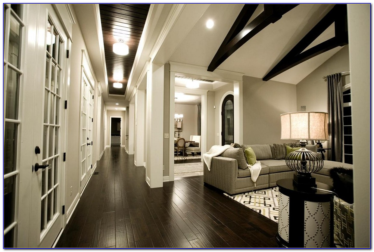 Dark Gray Hardwood Floors