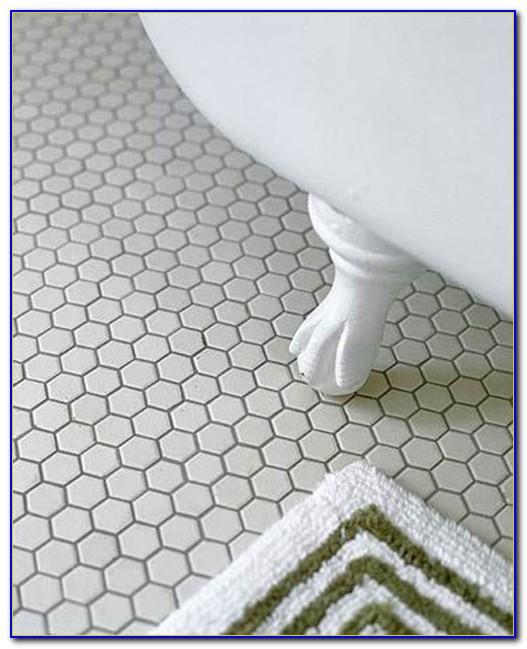 Dark Grey Hexagon Floor Tile