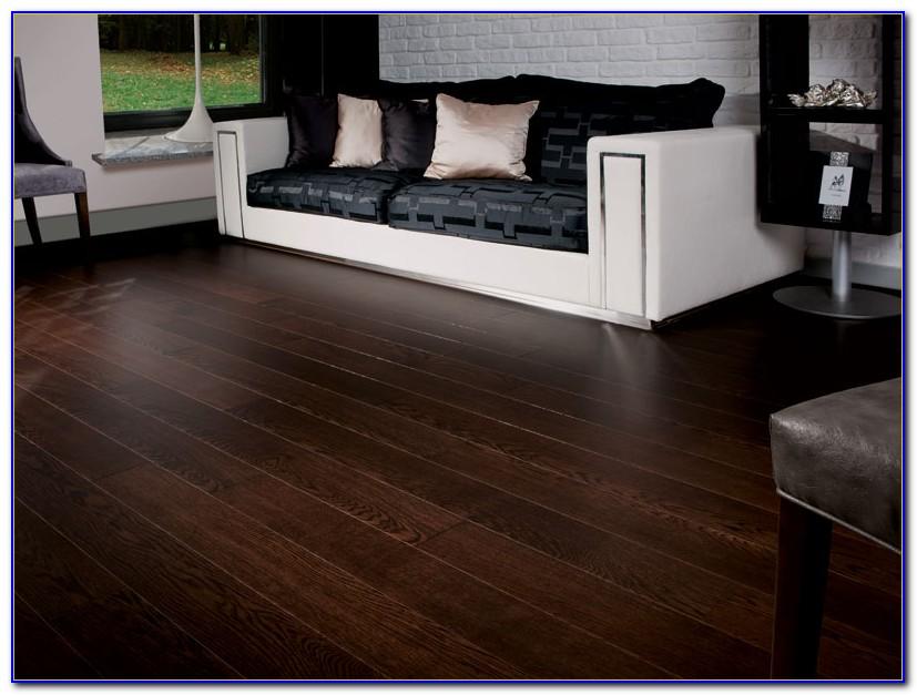 Dark Hardwood Floors In Kitchen