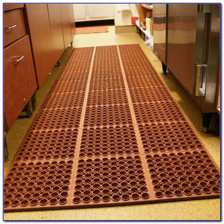 Decorative Rubber Kitchen Floor Mats