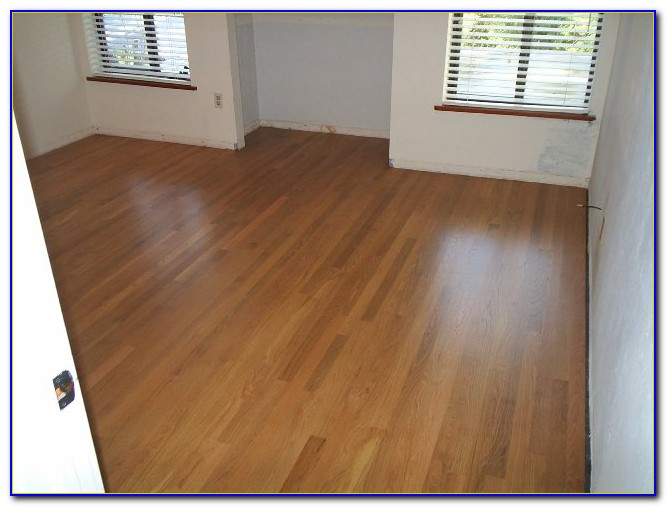 Deep Clean And Polish Hardwood Floors