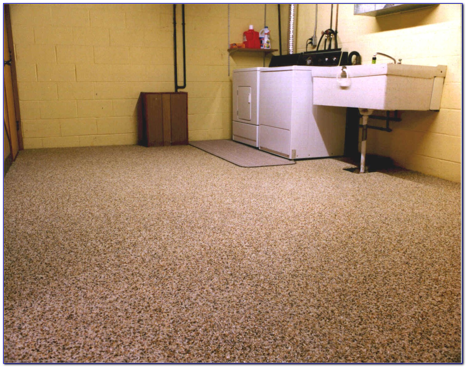 Epoxy Coating For Concrete Basement Floors
