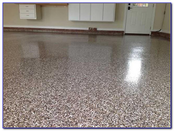Epoxy Floor Without Flakes