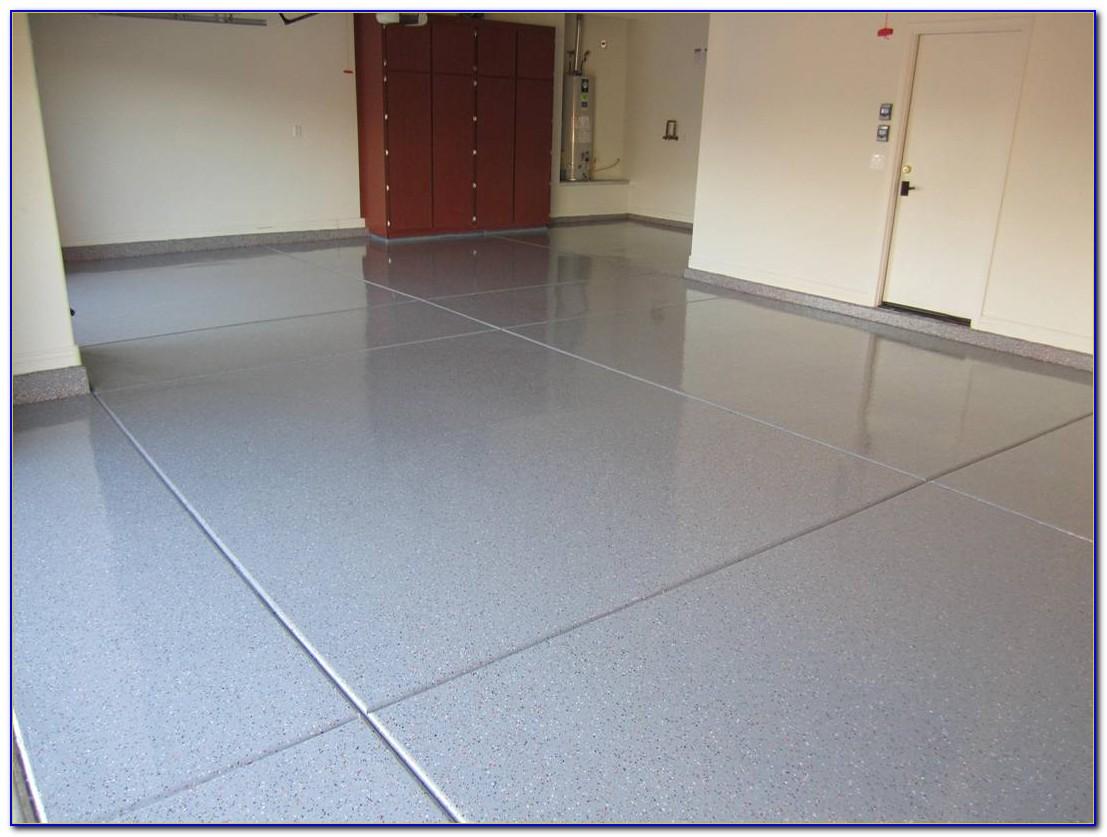 Epoxy Paint Garage Floor Video