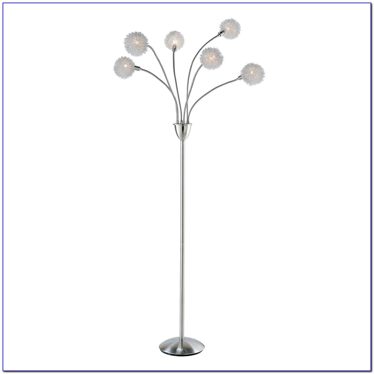Exposed Light Bulb Floor Lamp