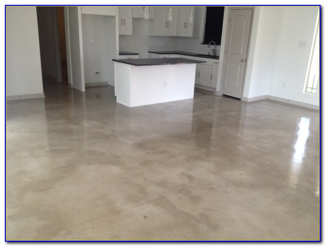 Floating Floor On Concrete Base