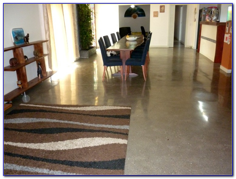 Floating Floor On Concrete Slab