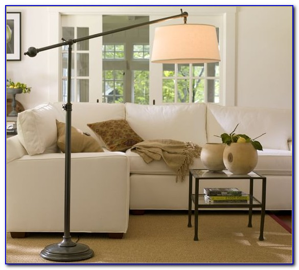 Floor Lamps Behind Sectional Sofas