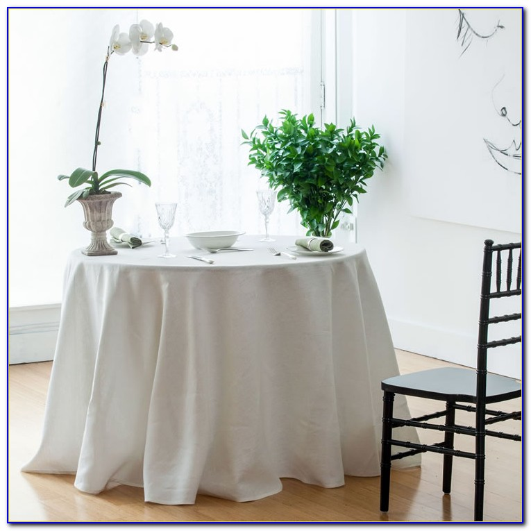 Floor Length Table Linens