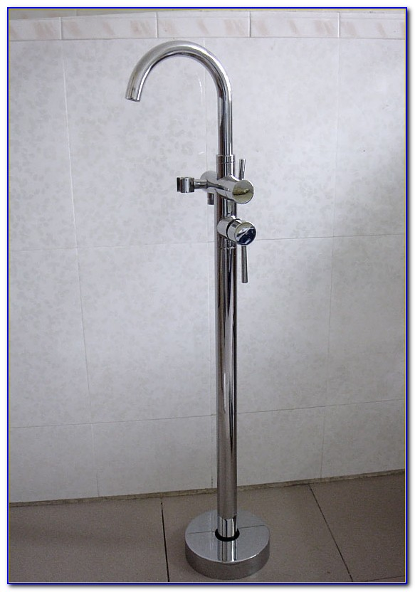Floor Mount Tub Faucet Installation