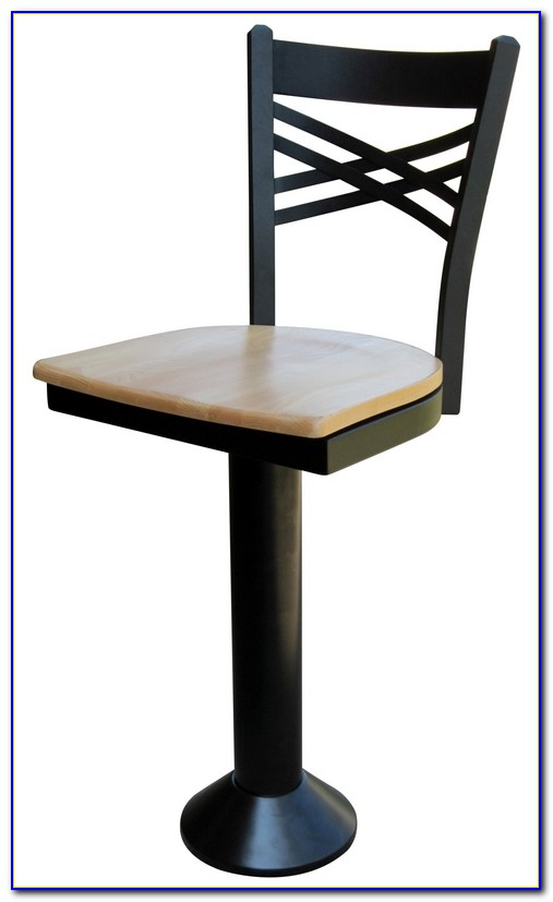 Floor Mounted Bar Stools With Back