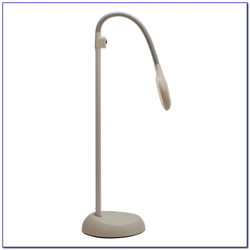Floor Standing Daylight Magnifying Lamp