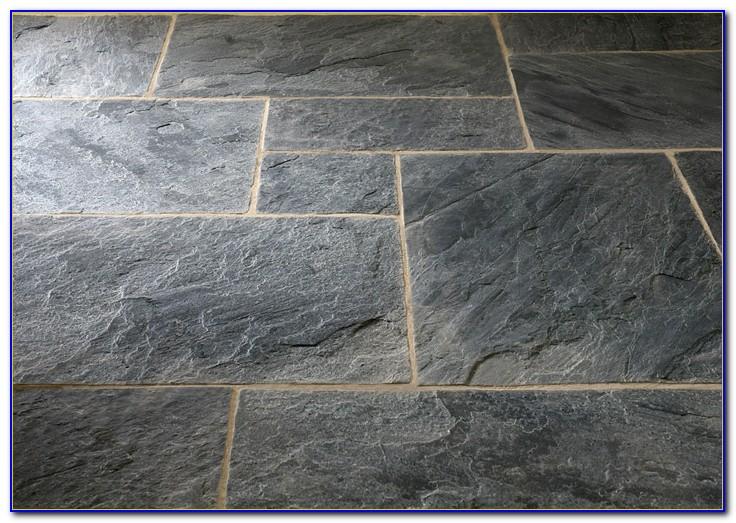 Gray Slate Floor Tiles