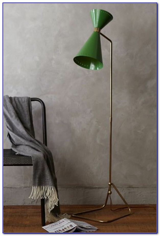 Green Lampshade For Floor Lamp