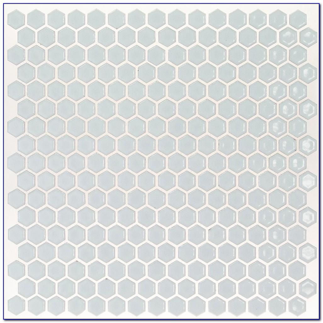 Grey Ceramic Hexagon Tile