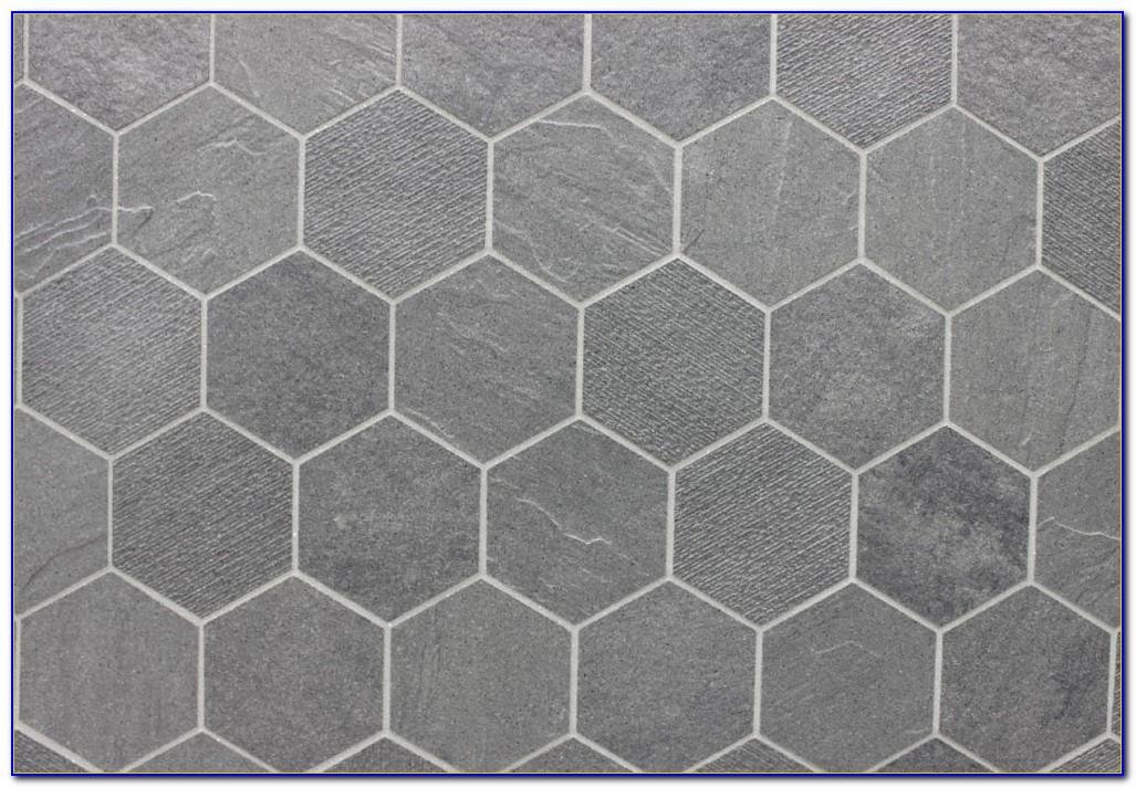 Grey Hexagon Floor Tiles Australia