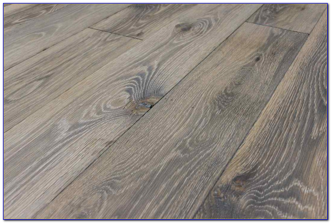 Grey Wide Plank Vinyl Flooring