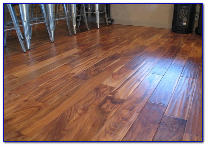 Hand Scraped Acacia Solid Hardwood Flooring