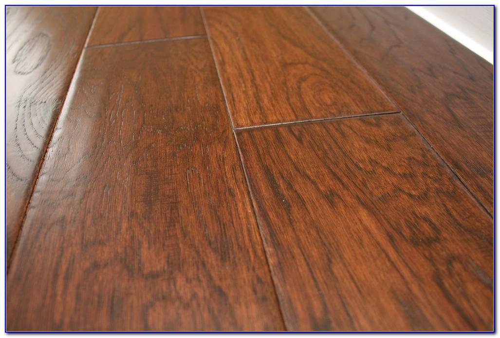 Hand Scraped Hickory Chestnut Hardwood Flooring